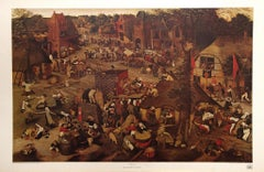 """Flemish Fair"" by Jan Pieter Brueghel. Published by Haddad's Fine Arts."