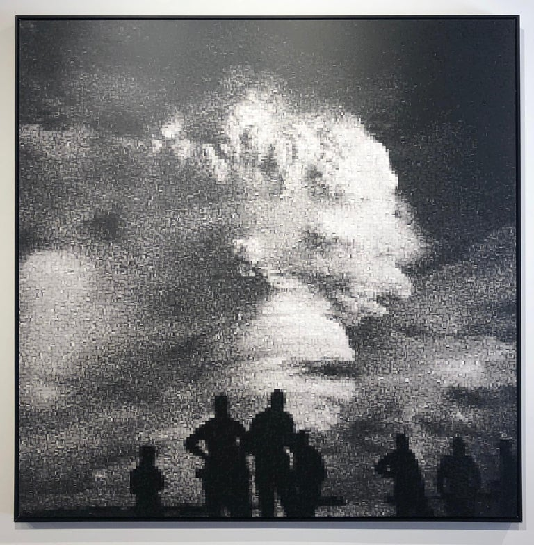 Operation Hardtack: Oak - Declassified Military Bomb Test Photo Abstraction - Print by Jan Pieter Fokkens
