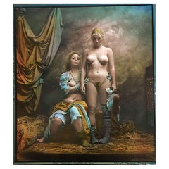 Jan Saudek, Czech Photographer, Original Gelatin Print, Photograph