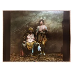 "Jan Saudek, Czech Photographer Original Gelatine Print ""Women from Pearl Street"""