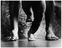 First Steps, Gelatin Silver Photography by Czech Photographer Prague 1960s