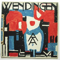 Wendingen -  Cover Jan Sluijters . Issue No 2 of the 5th series 1923.