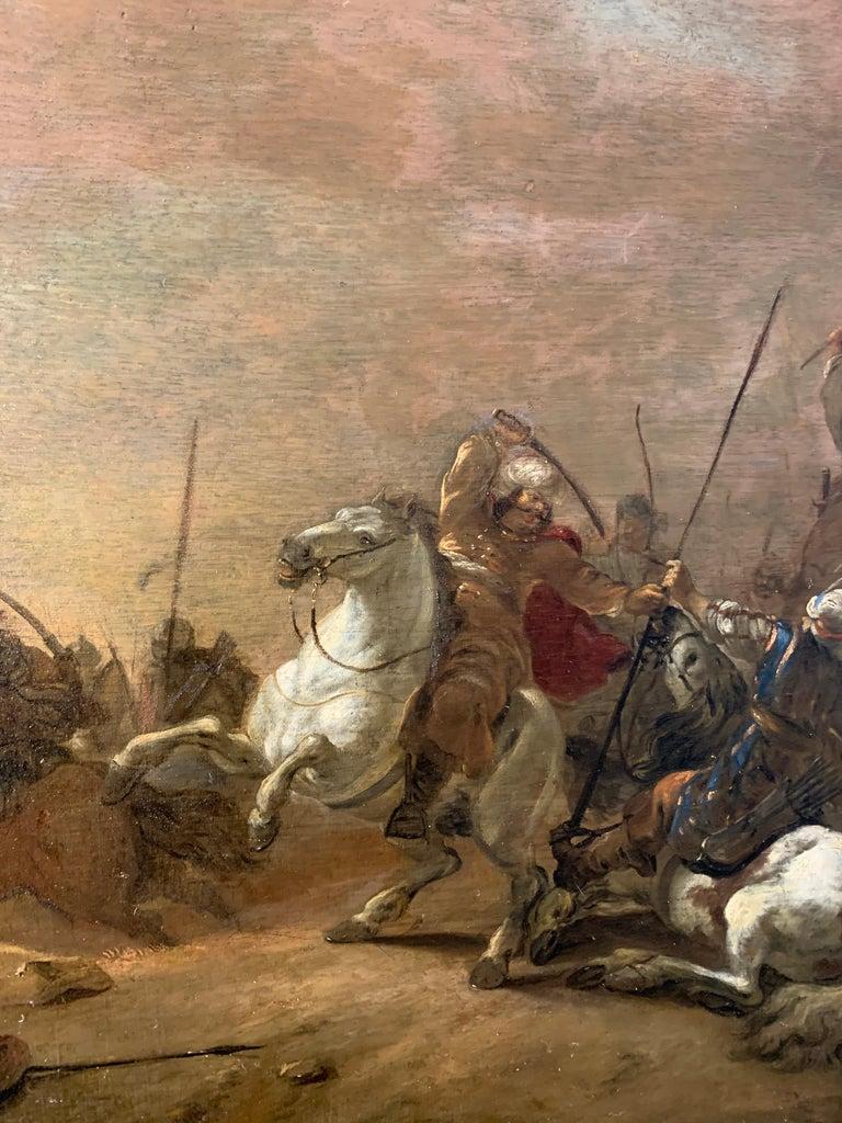 17th century orientalist battle - Orientalist Turkish Arabian Cavalry Skirmish  5