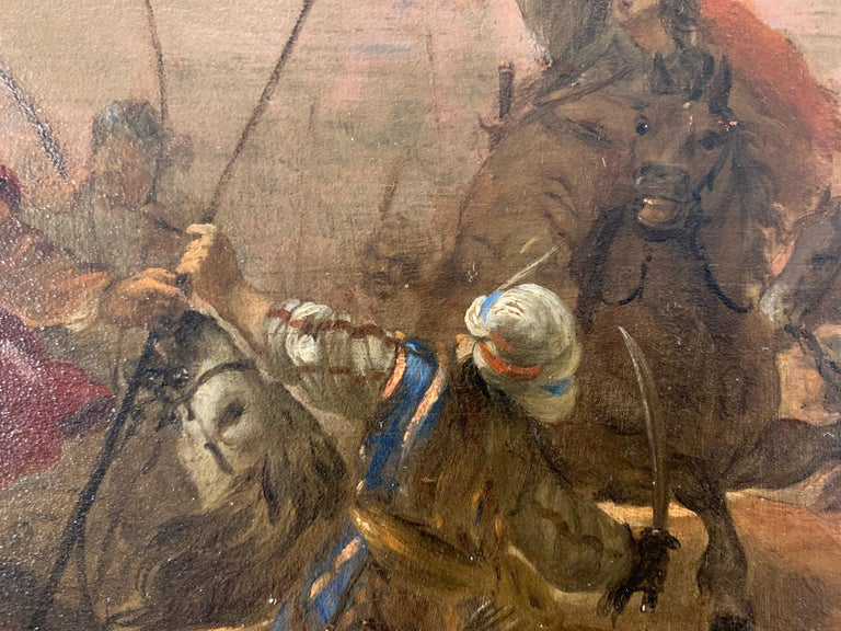 17th century orientalist battle - Orientalist Turkish Arabian Cavalry Skirmish  3