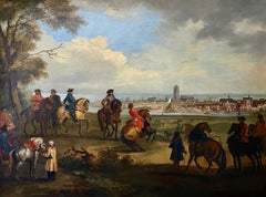 Early 18th Century Equestrian Oil, Circle of Jan Wyck