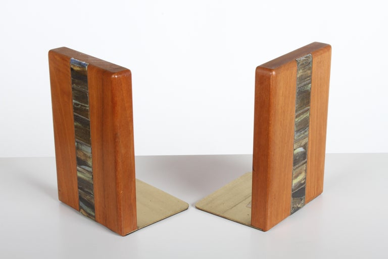 American Jane and Gordon Martz Bookends for Marshall Studios For Sale