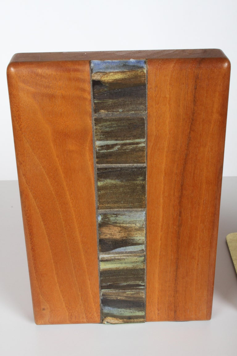 Jane and Gordon Martz Bookends for Marshall Studios For Sale 1
