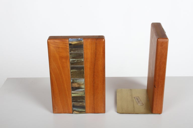 Jane and Gordon Martz Bookends for Marshall Studios For Sale 2