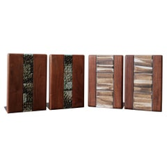 Jane and Gordon Martz Bookends Two Pairs