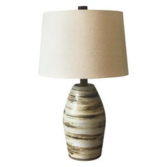 Jane and Gordon Martz Ceramic Lamp for Marshall Studios
