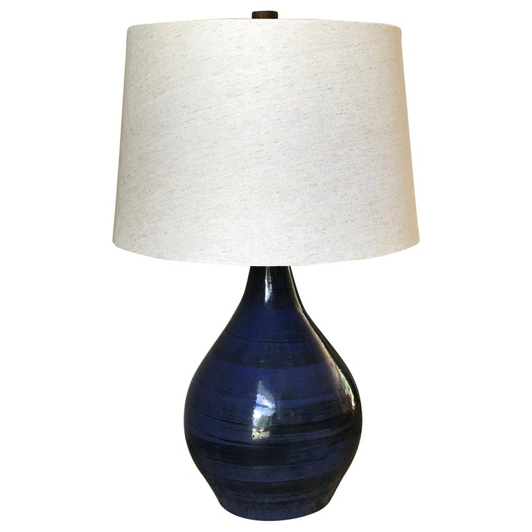 Jane and Gordon Martz Ceramic Table Lamp For Sale