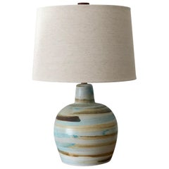 Jane and Gordon Martz Ceramic Table Lamp