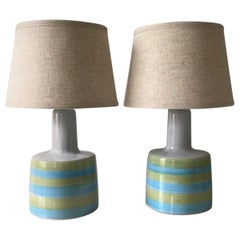 Jane and Gordon Martz for Marshall Studios Ceramic Table Lamps- Pair