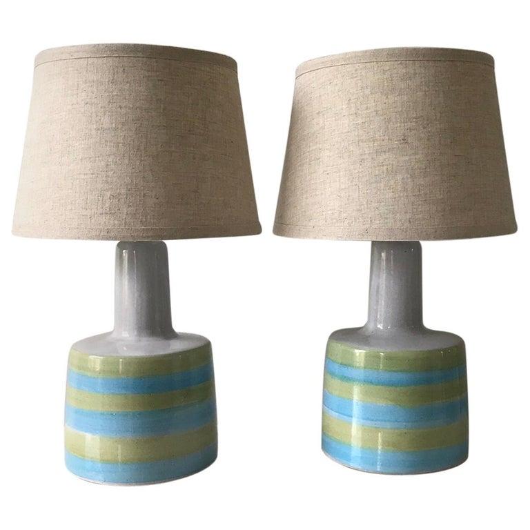 Jane and Gordon Martz for Marshall Studios Ceramic Table Lamps- Pair