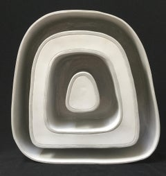 Inside Out - Donut III / ceramic sculpture
