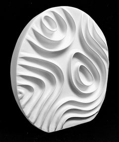 ODE XIII: freestanding ceramic sculpture - white