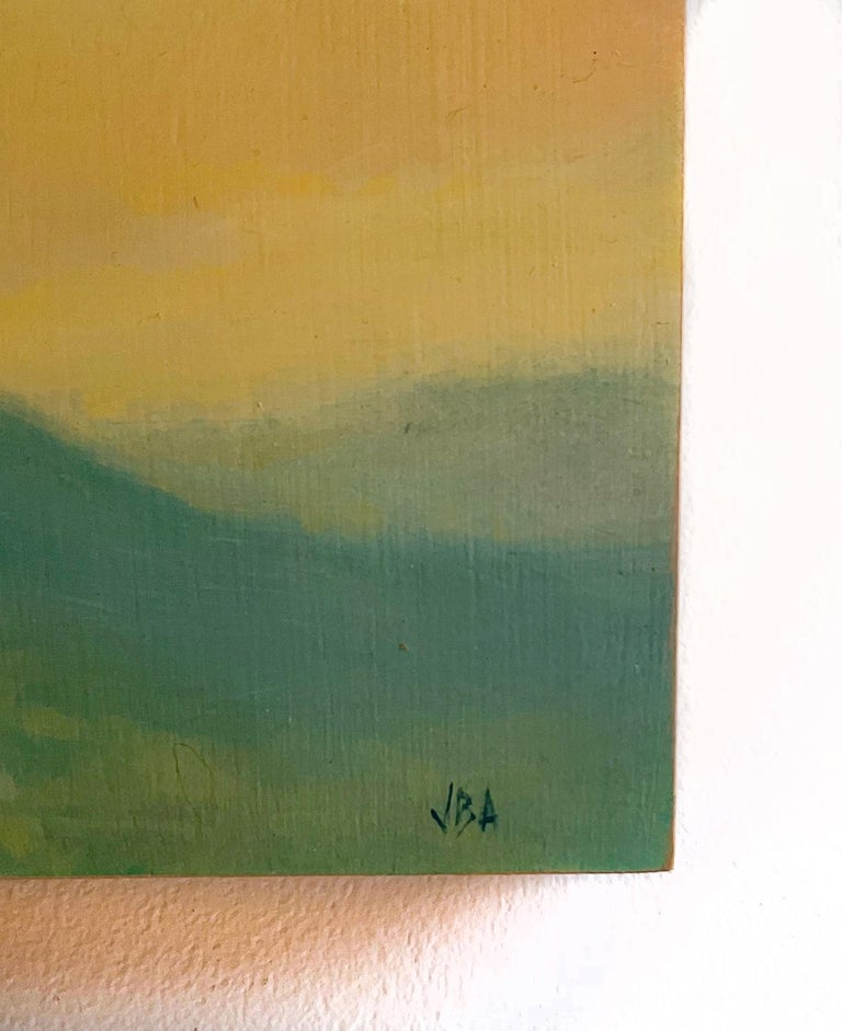 Catskills Spring No. 1 (Contemporary Hudson Valley Landscape Oil Painting) For Sale 3