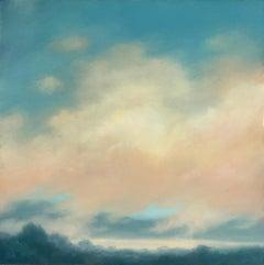 Catskills Spring No. 2 (Contemporary Hudson Valley Landscape Oil Painting)