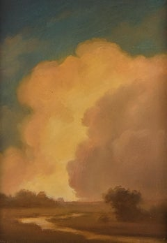 Clouds on the Horizon: Hudson River School Landscape Painting in Classical Frame