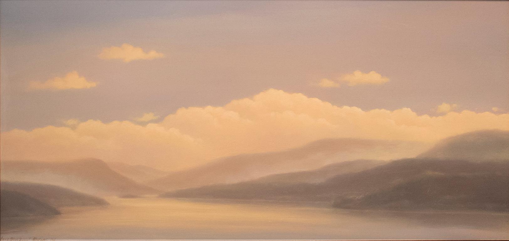 Mist Rising on the Hudson (Landscape of the Hudson Valley)