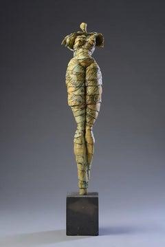 """Summer in Santa Fe"" Contemporary Figurative Original Sculpture"