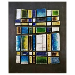 Jane Dart Ceramic Tile Wall Sculpture