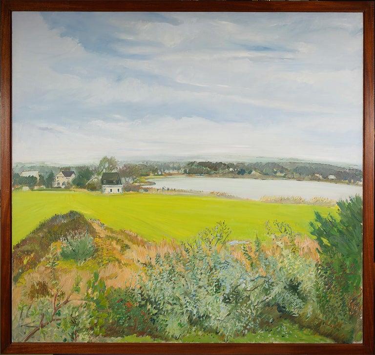 Northeast View - Painting by Jane Freilicher