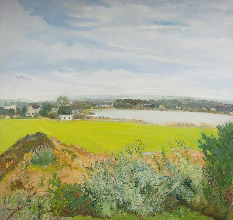 Jane Freilicher Landscape Painting - Northeast View