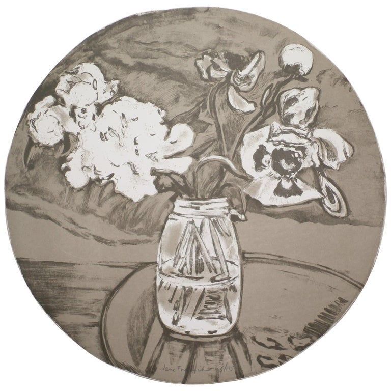 Jane Freilicher Untitled from Self-Portrait in a Convex Mirror For Sale