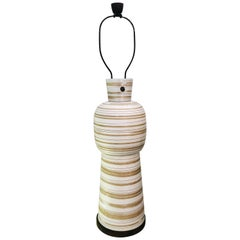 Jane & Gordon Martz Large Modernist Ceramic Lamp, 1950s