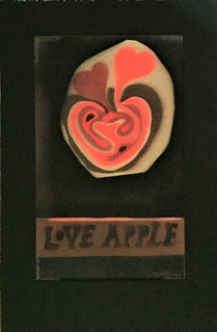 Love Apple (Black background)