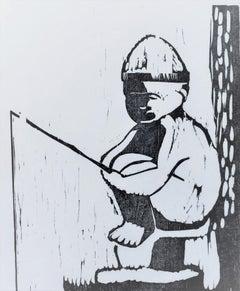 Statue-Fisherboy
