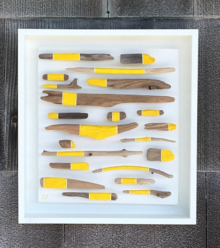 Untitled - Assemblage Mixed Media Art by Jane Parkes