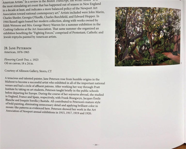 [Flowering Carob Tree, San Giorgio Maggiore Island, Venice]. For Sale 1