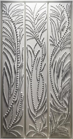 Vegetal - Contemporary Monochrome Painting