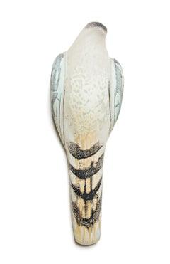 Celadon Wings Wall Bird