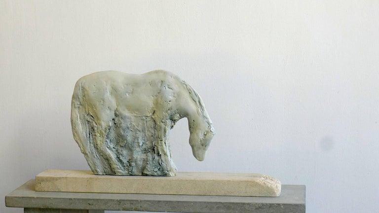 Jane Rosen Figurative Sculpture - Palomino