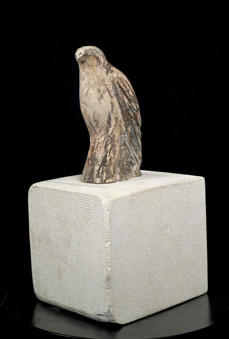 Pescadero Bird - Sculpture by Jane Rosen