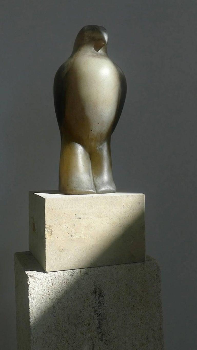 Turtle Bird - Beige Still-Life Sculpture by Jane Rosen
