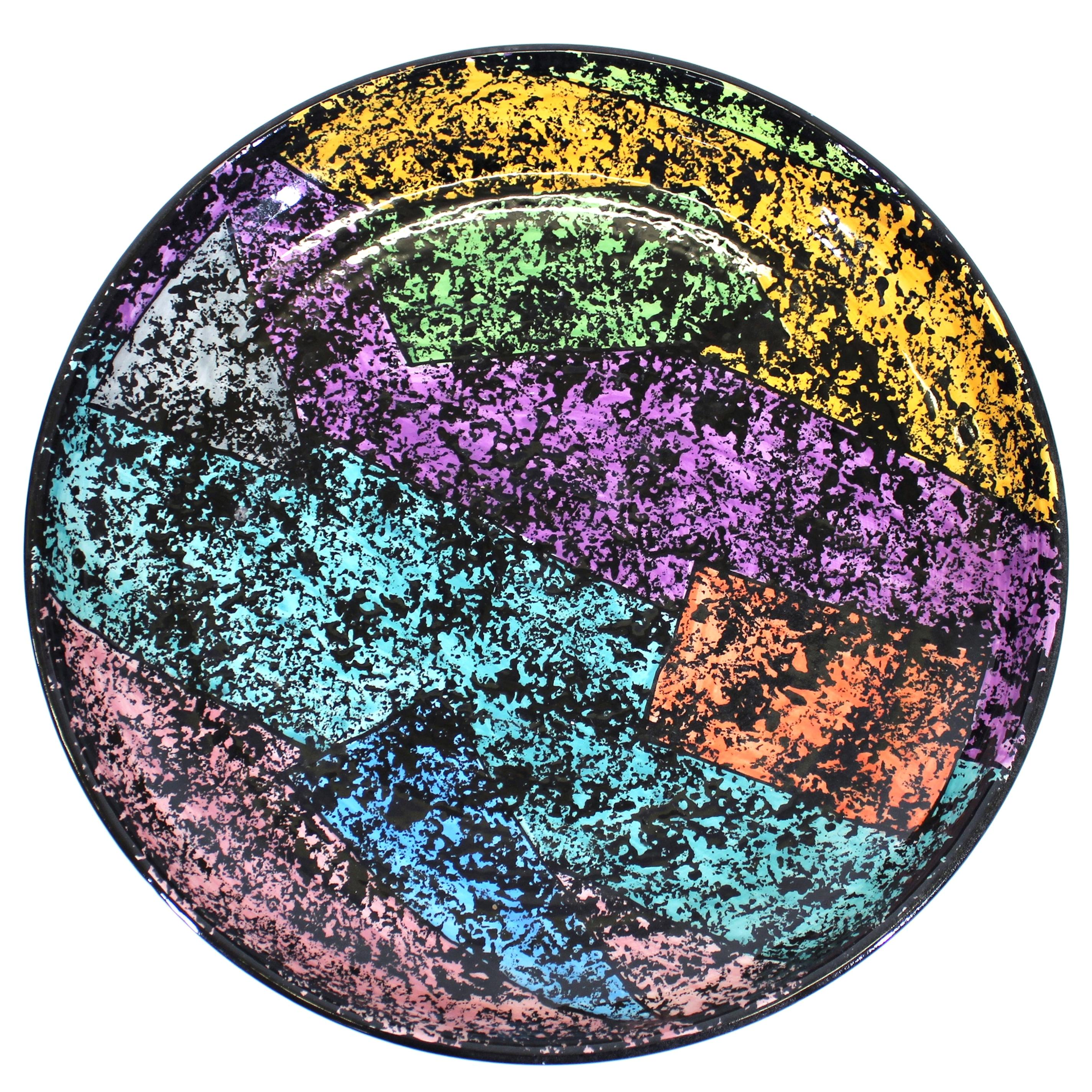 Jane Willingale English Postmodern Charger Plate