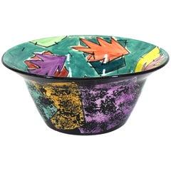 Jane Willingale English Postmodern 'Loudware' Bowl