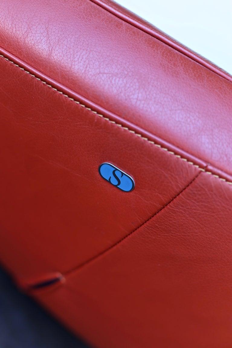 Steel Jane Worthington DS 152 Sofa for De Sede For Sale