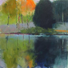 Lone Tree IV, Abstract Painting