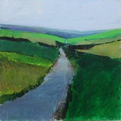 Road Through Fields, England