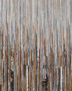 S138 II Janet Hamilton Oil, wax, latex, paper on canvas on stretched canvas