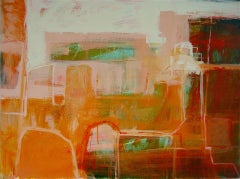 Janet Keith, Indian Afternoon, Original Abstract Painting, Affordable Art