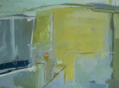 Janet Keith, Italian Painting 1,  Original Semi Abstract Landscape Painting