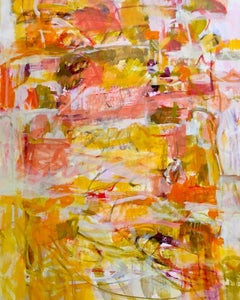 Tumbling Autumn, Janet Keith, Original Abstract Painting, Affordable Artwork