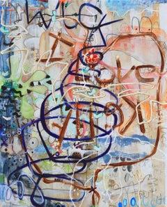 Muck - Lovesick Romeo graffiti painting