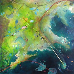 Green Bayou, Painting, Acrylic on Canvas